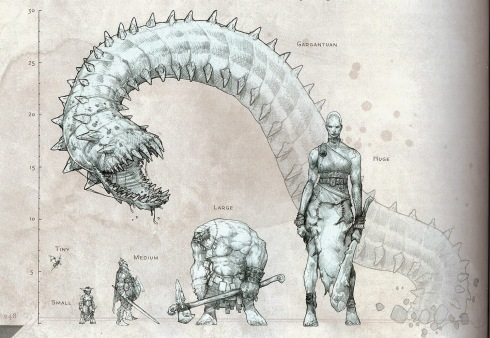 Image result for D&D size comparison 5e